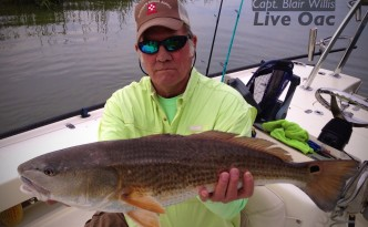 Redfishing in Hilton Head Island March 2013