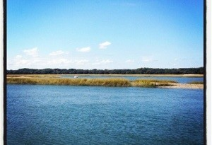 Hilton Head Marsh in Winter