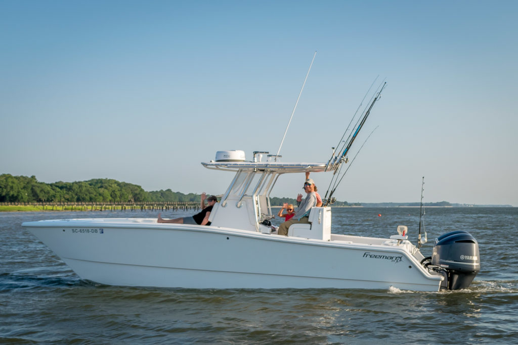 Freeman 29 Charter Boat