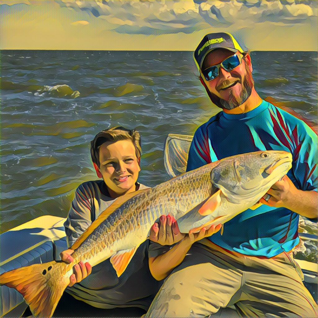 Big Red Drum Fishing